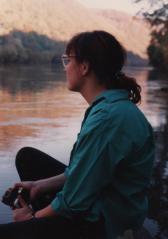 Trina at the river