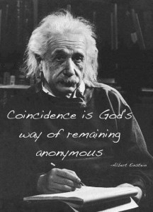 Albert-Einstein-on-Coincidence
