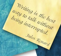 writing interruption
