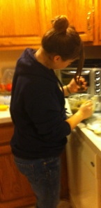 Kendall cooking