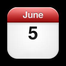 June 5