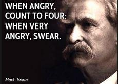 mark twain anger