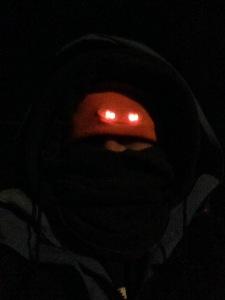 me in winter garb