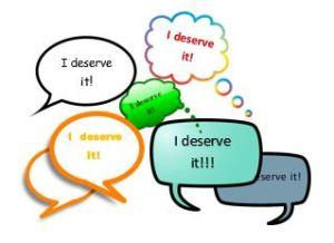 I deserve